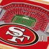 NFL San Francisco 49ers 3D StadiumView Coasters - image 2 of 3