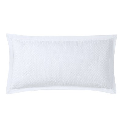 16x32 Fairfield Quilted Throw Pillow White - Charisma