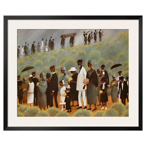 Art.com - Funeral March - Framed Print - image 1 of 2
