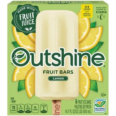 Outshine Lemonade Frozen Fruit Bar - 6ct