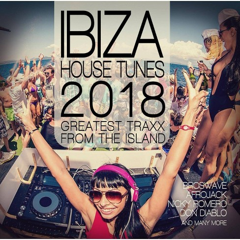 Various - Ibiza House Tunes 2018 (CD) - image 1 of 1