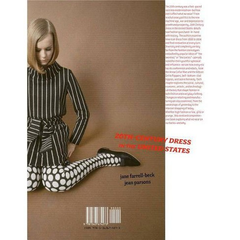 20th-Century Dress in the United States - by  Jane Farrell-Beck & Jean Parsons (Paperback) - image 1 of 1