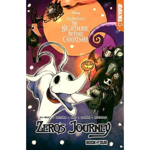 Disney Manga: Tim Burton's the Nightmare Before Christmas -- Zero's Journey Graphic Novel Book 4 - by  D J Milky (Paperback) - image 1 of 1