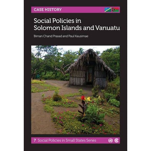 Social Policies in Solomon Islands and Vanuatu - (Social Policies in Small States) (Paperback) - image 1 of 1