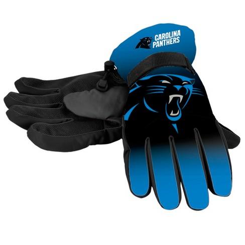 30e1ace98584e9 NFL Carolina Panthers Big Logo Insulated Gloves - S/M : Target