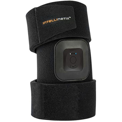 Brownmed Intellinetix Vibrating Foot and Ankle Therapy Wrap - Universal - Black - image 1 of 2