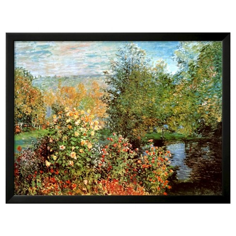 Art.com - Stiller Winkel im Garten von Montgeron by Claude Monet - image 1 of 3
