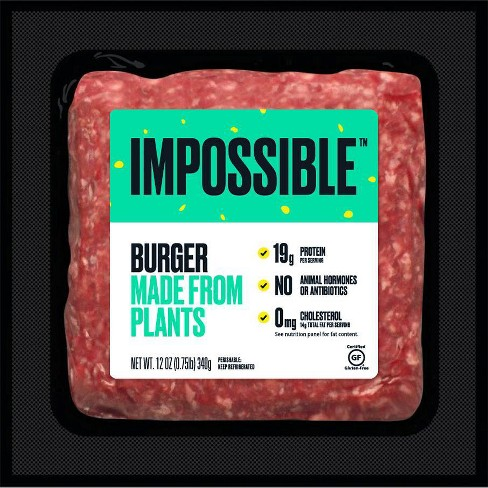 Impossible Burger Ground - 12oz - image 1 of 4