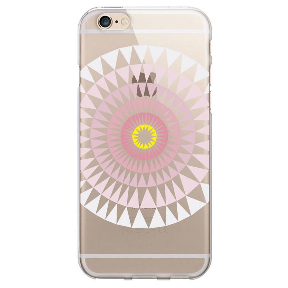 iPhone 6/6S Case - Otm Artist Prints Clear - Sun Print Rose (Pink)