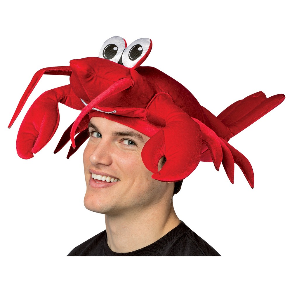 Lobster Hat Red, Adult Unisex