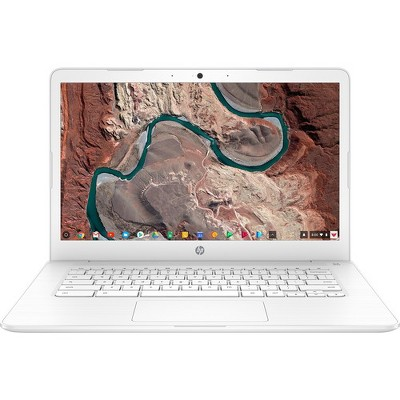 "HP 14 14"" Chromebook Intel Celeron N3350 4GB RAM 32GB eMMC Snow White - Intel Celeron N3350 Dual-core - Intel HD Graphics 500 - USB 3.1 Connector"