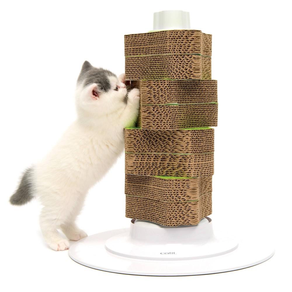 Senses 2.0 Cat Scratcher - Catit, Brown