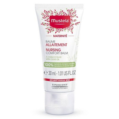 Mustela Nursing Comfort Balm with Olive Oil for Maternity and Breastfeeding - 1.01 fl oz