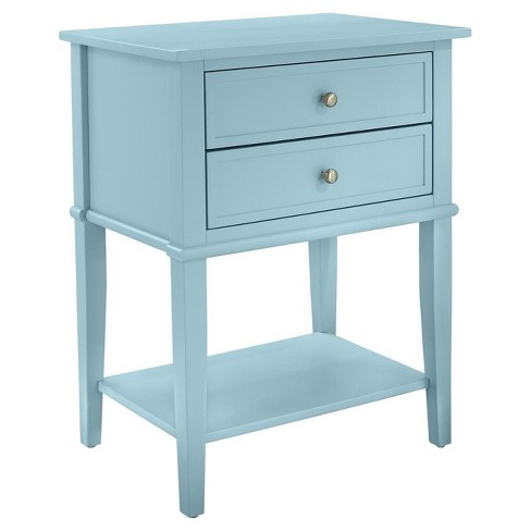 Durham Accent Table with 2 Drawers - Room & Joy - image 1 of 6