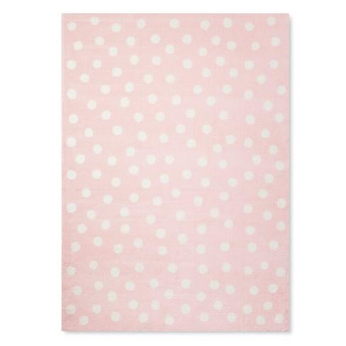 Polka Dot Plush Area Rug Pillowfort