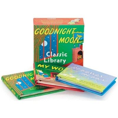 Goodnight Moon Classic Library - by Margaret Wise Brown (Hardcover)