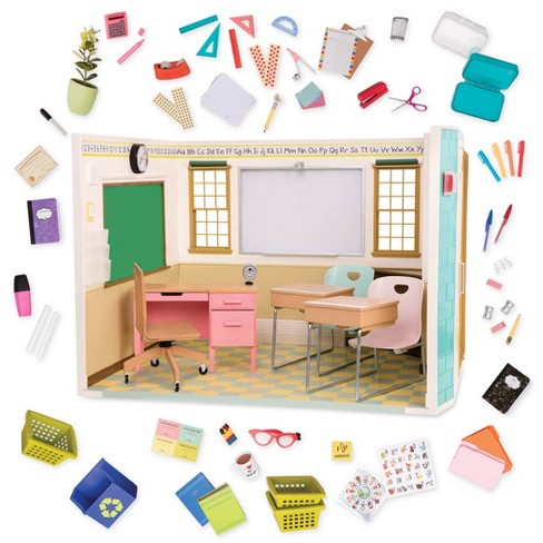 Our Generation Awesome Academy School Room For 18 In Dolls Target