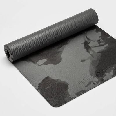 Swirl Print Yoga Mat 5mm Gray - All in Motion™