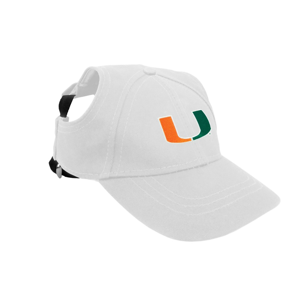 Miami Hurricanes Little Earth Pet Baseball Hat - XS