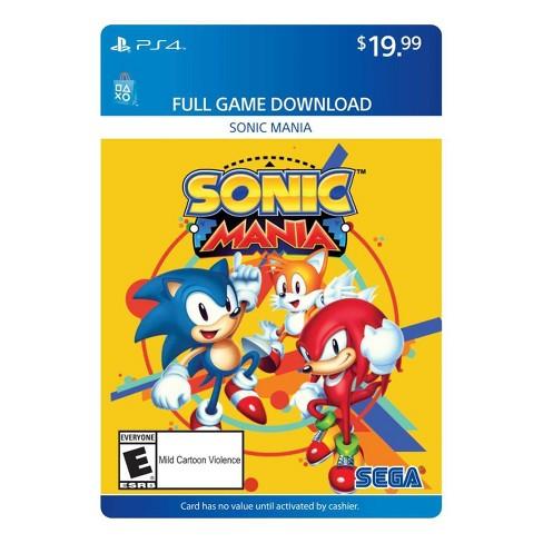 Sonic Mania - PlayStation 4 (Digital) - image 1 of 1