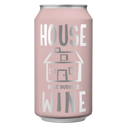 House Wine Sparkling Rose Wine - 375ml Can - image 1 of 1
