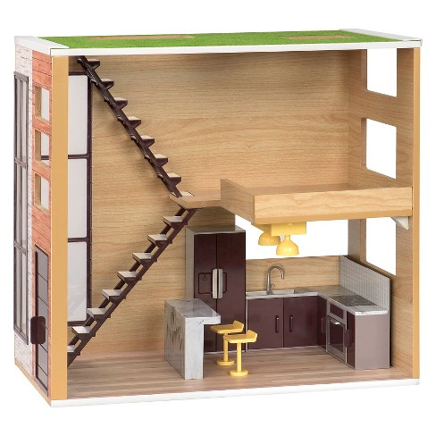 Lori Dolls Loft to Love Dollhouse for 6-inch Mini Dolls - image 1 of 7