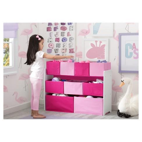 Delta Children Deluxe Multi Bin Toy Organizer With Storage Bins Target