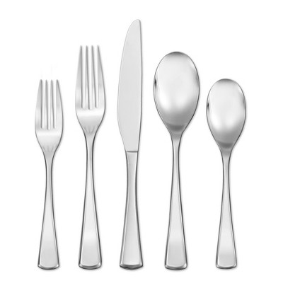 Hampton Forge 20pc Stainless Steel Mulberry Silverware Set