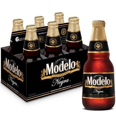Modelo Negra Beer - 6pk/12 fl oz Bottles
