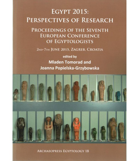 Egypt 2015 : Perspectives of Research; Proceedings of the Seventh European Conference of Egyptologists, - image 1 of 1
