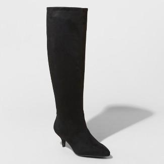 Women's Latia Kitten Sock Boots - A New Day™