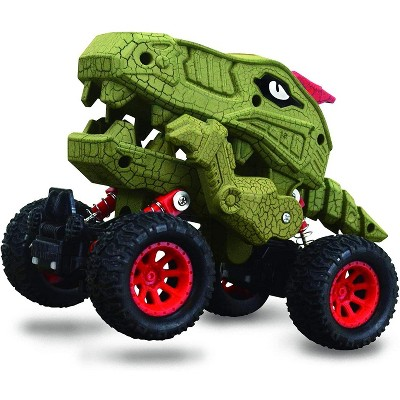 Aeromax Aeromax Dino-Faur Pull Back Dinosaur Truck   Green