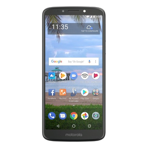 Simple Mobile Prepaid Motorola E5 (16GB) - Dark Gray - image 1 of 12
