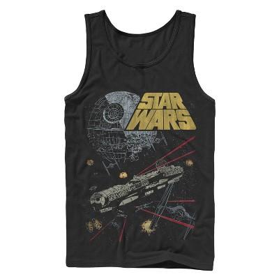 Men's Star Wars Millennium Falcon Battle Tank Top