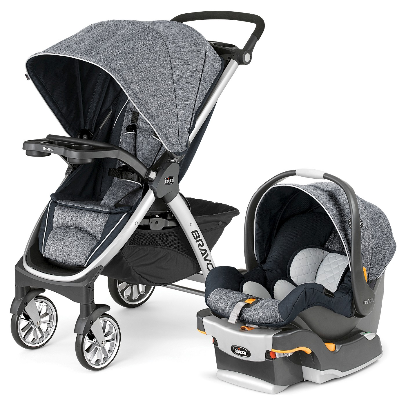 bea3c4945761 Graco Nautilus 65 3-in-1 Harness Booster Seat With Safety Surround  89.99  (reg.  179.99). Chicco Bravo Travel System - Indigo - image 1 of 3