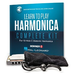 Hal Leonard Play Today Harmonica Kit - Clear (274382)
