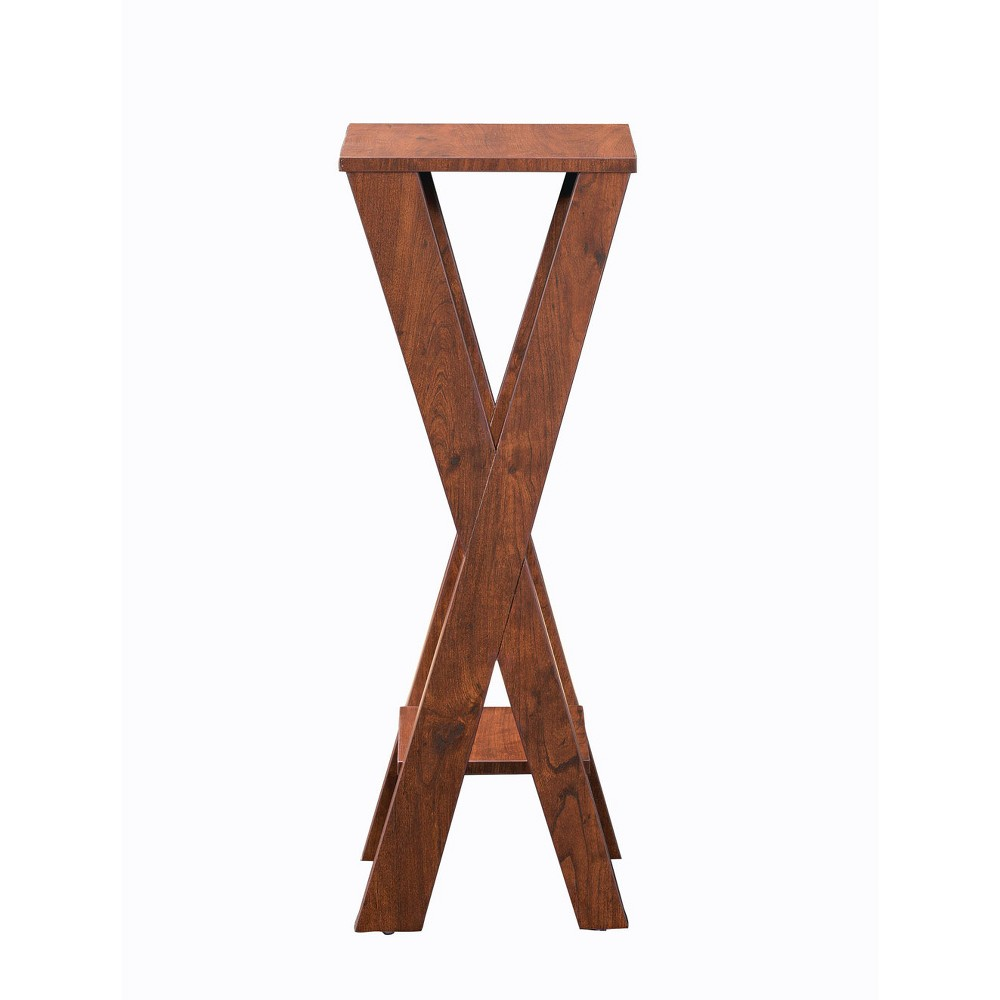Image of Kani Indoor Plant Stand Walnut - Homes: Inside + Out, Brown