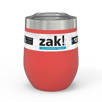 Zak Designs Designs11.5oz DW SS Wine Tumbler - Coral