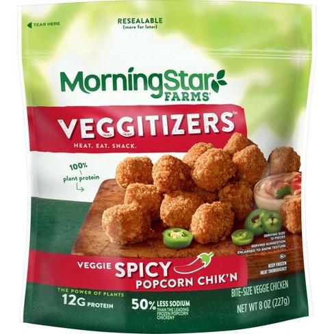 Morningstar Farms Frozen Spicy Popcorn Chik'n - 8oz - image 1 of 4