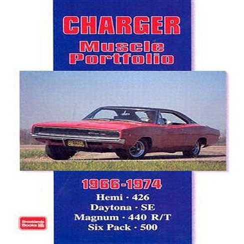 Charger Muscle Portfolio 1966-1974 - (Muscle Portfolio S) by  R M Clarke (Paperback) - image 1 of 1