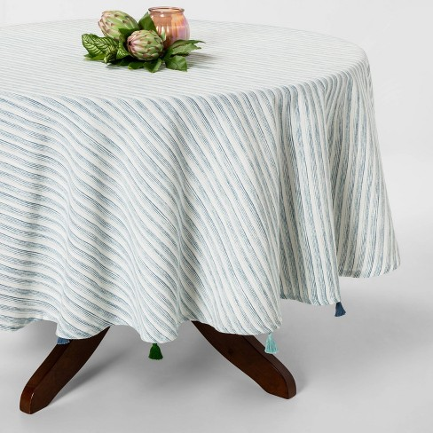 Tablecloths, table Runners And Table Throws Blue  - Opalhouse™ - image 1 of 2