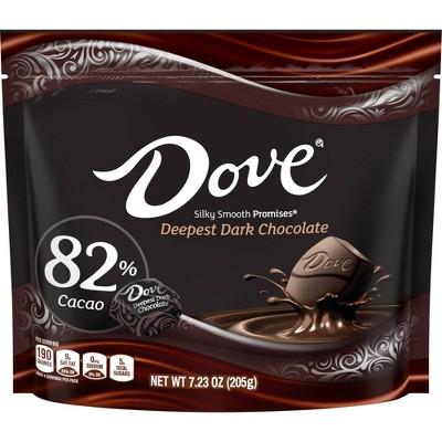 Dove Promises Extra Dark Chocolate 82% Cacao Sharing SUP - 7.23oz