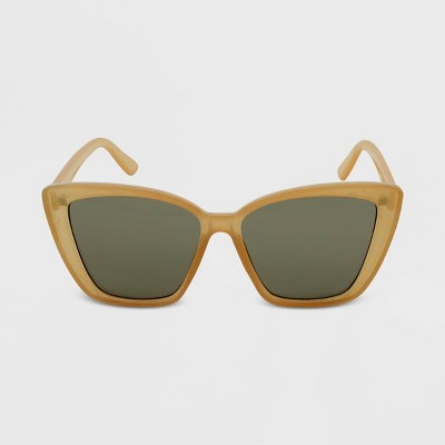 Women's Cateye Sunglasses - Wild Fable™ Orange