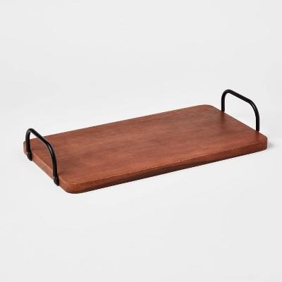 "14"" x 7"" Wood Serving Board - Threshold™"