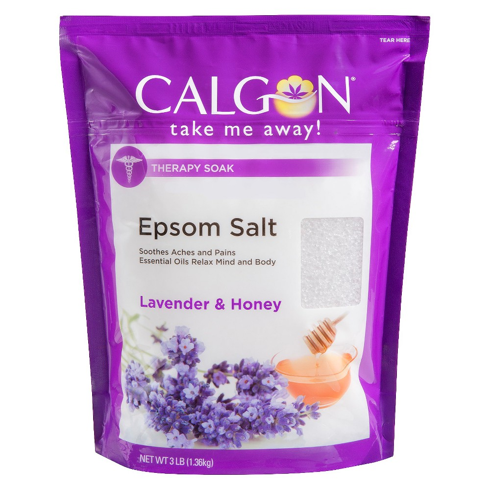 Calgon Therapy Soak Lavender & Honey Epsom Salt - 3lb