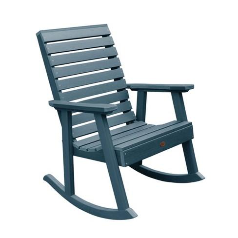 Weatherly Rocking Patio Chair Nantucket