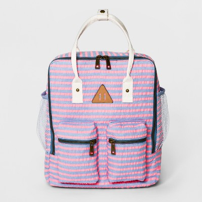 Striped Chambray Backpack – Mossimo Supply Co.™ Pink – Target ... 8a871e82631ca