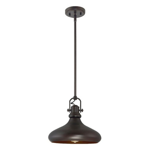 Oiled Rubbed Bronze Pendant Ceiling Lights - Z-Lite - image 1 of 1