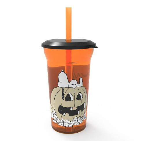 14oz Snoopy Halloween Tumbler with Straw - Zak Designs - image 1 of 2