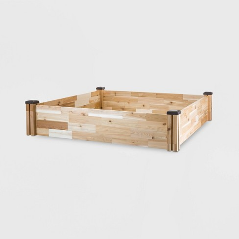 "49"" x 49"" Square Cedar Raised Garden Bed - CedarCraft - image 1 of 3"
